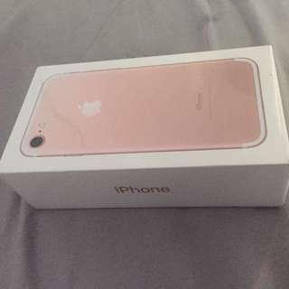 32gb Rose Gold Iphone 7