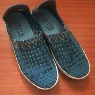 Yadid Weaved Slip-on Sneakers