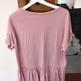 Boohoo Pink Top - Never Worn!!