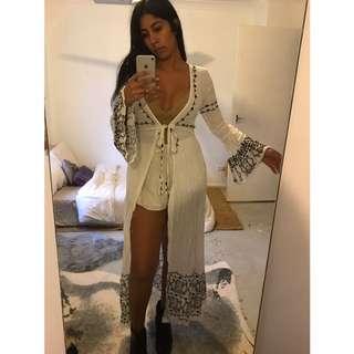 SOLD VIA DEPOP Arnhem Maxi Kimono $50 Inc Postage