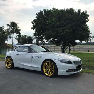 Z4 SDrive 35i Convertible For Wedding Rental!!!