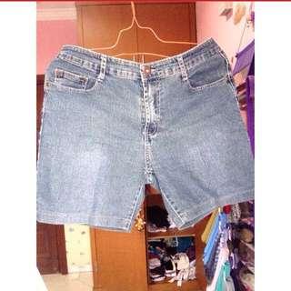 Celana Jeans Wanita Selutut