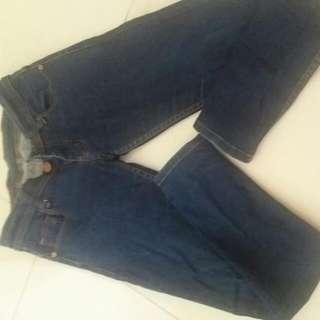 Jeans Hermes KW, Masih Bagus Banget Soalnya Hanya Brp X Pake