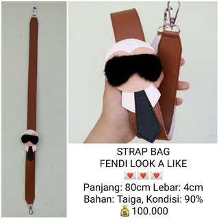FENDI STRAP BAG