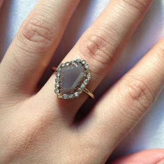 (NEW) Forever 21 Purple Stone Ring