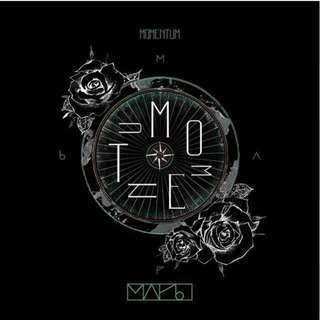 MAP6 3rd Single Album - Momentum