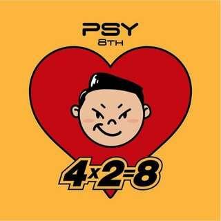 Psy 8th Album 4x2=8