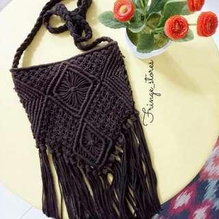 Knitted Boho Bag