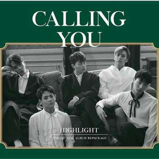 Highlight 1st Mini Album Repackage - Calling You