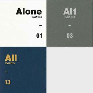 "Seventeen 4th Mini Album - ""AL1"""