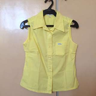 Yellow Guess Top