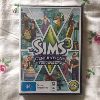 Sims 3 Generations Expansion Pack