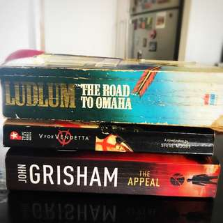 Ludlum, Grisham And V For Vendetta
