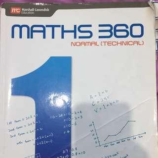 Maths 360 Normal Technical Secondary 1