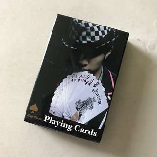 Jay Chou Poker Card