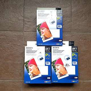 Sony Color Print Pack DPP-F 120pc