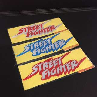STREET FIGHTER Stickers
