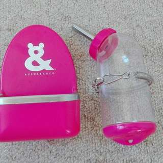 Rufus And Coco Pet Bowl And Water Feeder