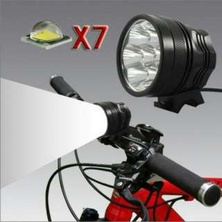 Preorder X7 7200 Lumens Front Lights For Electric Scooter Comes In A Set Or Just The Light Itself For Electric Scooter/bicycle/ebike