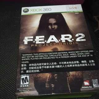 Fear 2 xbox360 Game