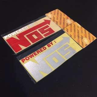 NOS Stickers
