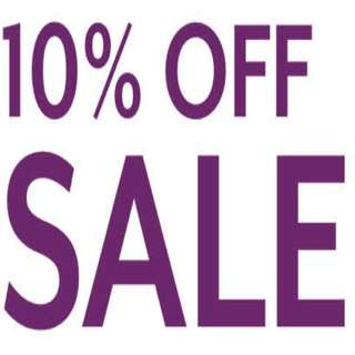 10% Off Everything !