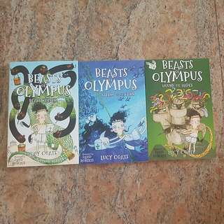Beasts Of Olympus-3 Books