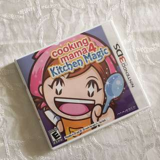 3DS GAME / Cooking Mama 4: Kitchen Magic