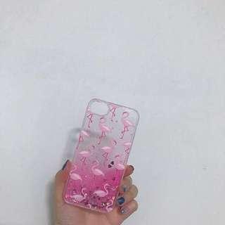 紅鶴流沙iPhone手機殼