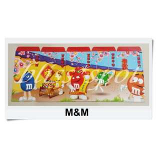 🌸5 Pieces M&M Red Packet Red Packets