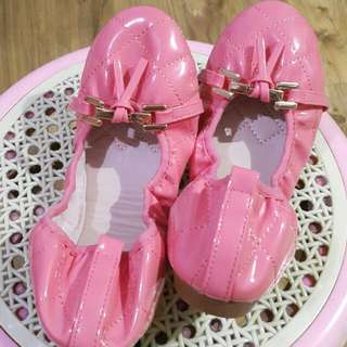 Pink Flat Shoes Size 39