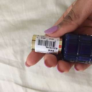L'Oréal Nail Lacquer In Bleu Royal