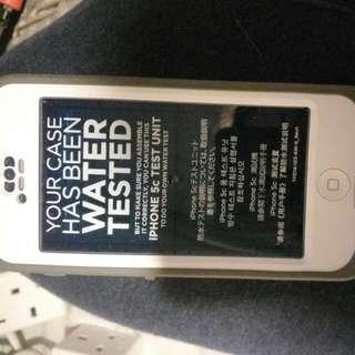 iPhone 5c LifeProof Waterproof Case