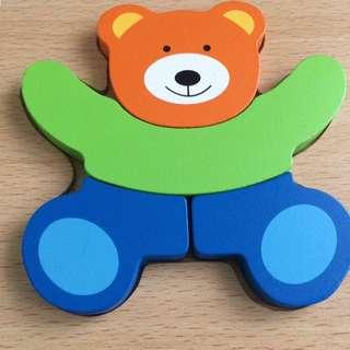 Mini Puzzle Beruang
