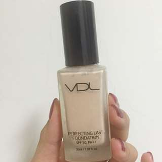 VDL Perfecting Last Foundation SPF30 PA++ 完美持久粉底液