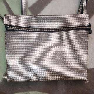 Something Borrowed Gold Sling Bag