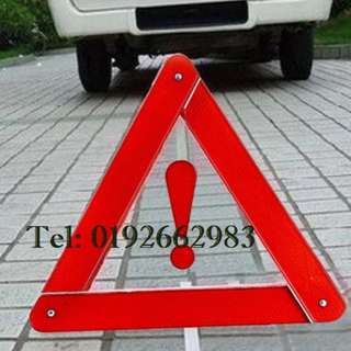 Car Warning Emergency Road Reflective Safety Sign Triangle Kit
