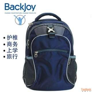 正品Backjoy Posture Backpack 貝樂宜護椎背包 電腦包 雙肩包