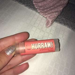 Hurraw 'Grapefruit' Lip Balm