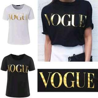 "FREE POSTAGE Printed shirt ""Vogue"""