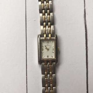 Anne Klein Silver/Gold Watch