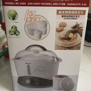 Toyomi Electric Stew Cooker And Steamer 2 IN 1