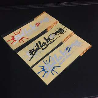 BILLABONG Stickers