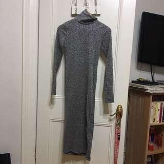 H&M Midi Dress (Sparkle Material)