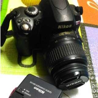 單眼相機Nikon D40X