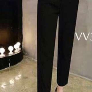 New! Long Pants - black Cloth