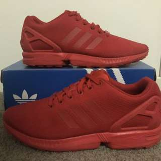 Adidas ZX Fluxes Triple Red