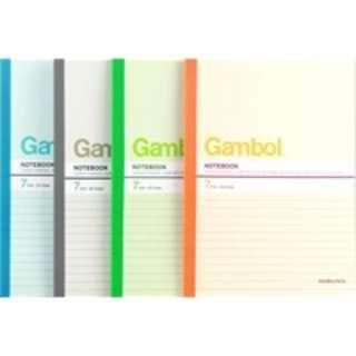 [5折] 99% New Gambol 灰色  無線裝訂 A5 (79張) 軟皮 單行 筆記簿 1本 (只用左1張近乎全新)