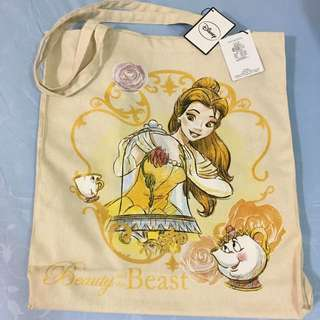 Disney's Beauty And The Beast Tote Bag From Primark