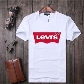🚚 Levis 白色短袖T恤 經典款